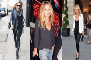 Kate Moss collage