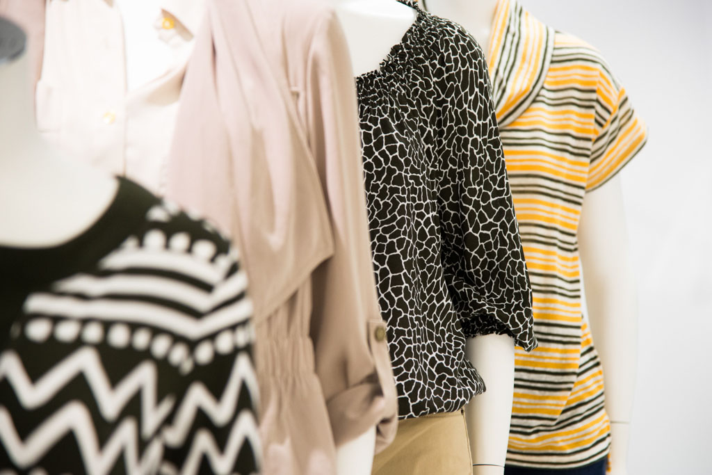 Mannequin texture, dressy clothes