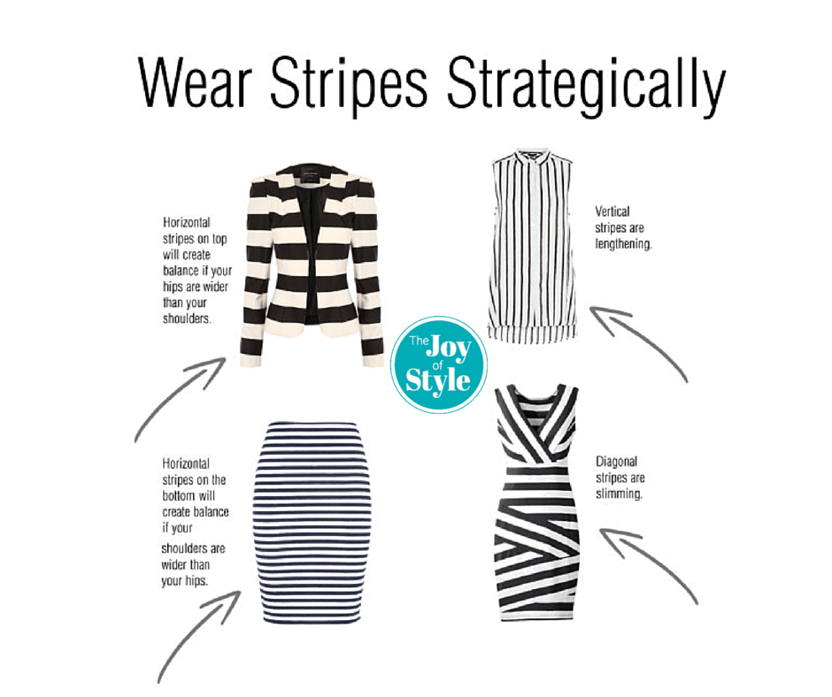 vertical stripes slimming