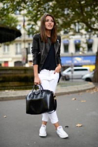White jeans for winter