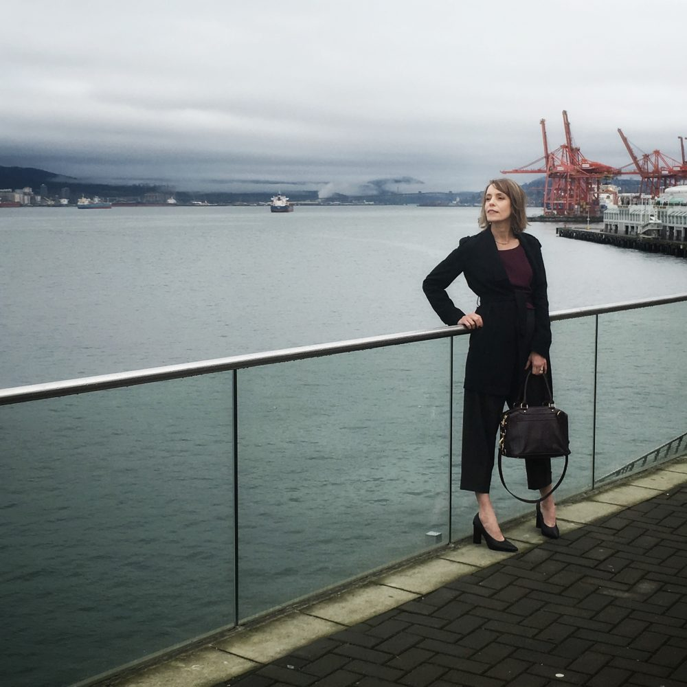 Vancouverites Dee at Coal Harbour