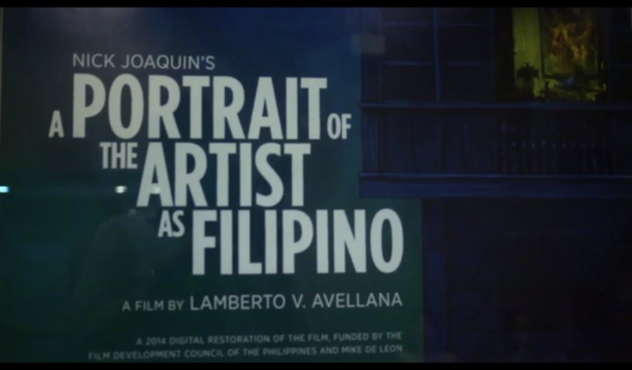 screening of a portrait of the artist