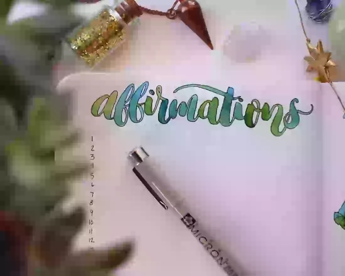 How To Keep A Daily Affirmation Journal Ideas Prompts