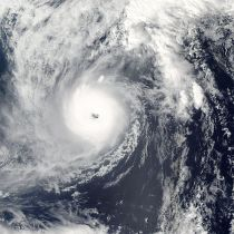 Super Typhoon Ma on 2004