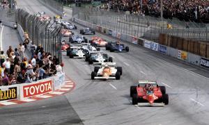 Long Beach Grand Prix Villeneuve