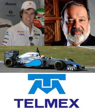 \The big debate in the paddock - bored journo's - is will McLaren replace Vodafone with Telmex in 2014?