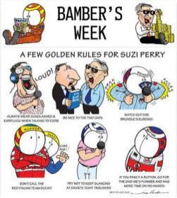 .. and the BBC's glamourous Suzi's making cartoons already