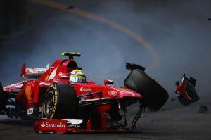 Felipe Massa FP3 Monaco © Mirror
