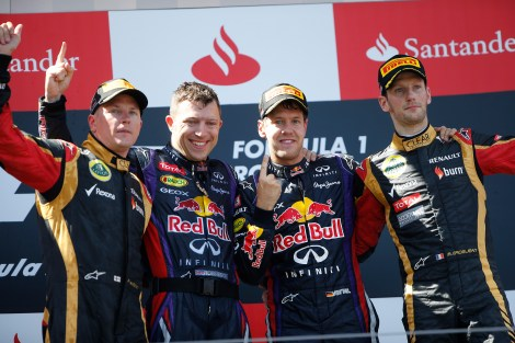 2013 German Grand Prix - Sunday © Pirelli