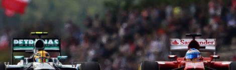 Lewis Hamilton and Fernando Alonso © F1 Around The World