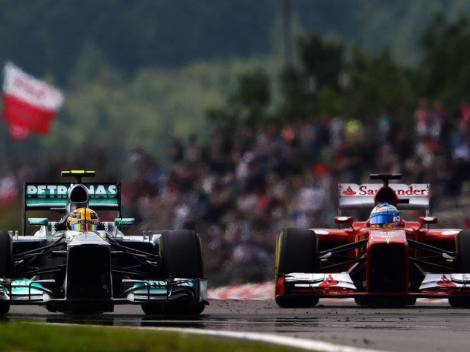 Lewis Hamilton and Fernando Alonso © F1 Around The World