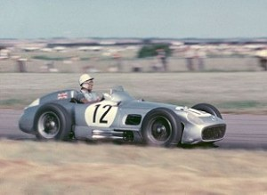 Stirling Moss 1955 British Grand Prix Aintree © Getty Images