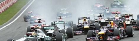 Belgium GP Start
