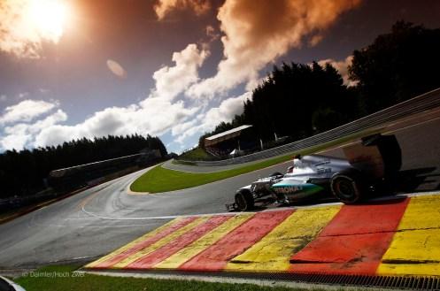 Motorsports: FIA Formula One World Championship 2012, Grand Prix of Belgium