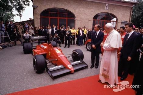 Pope and Ferrari