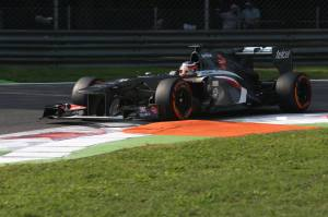 Nico Hulkenberg Monza 2013