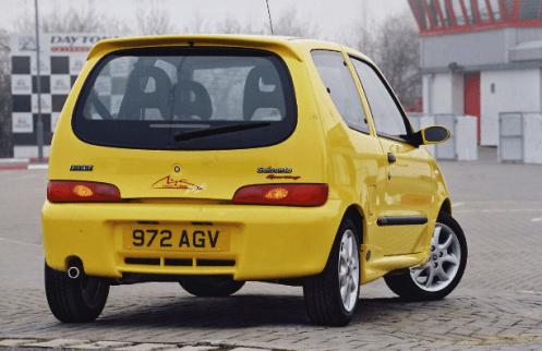 Fiat Seicento Michael Schumacher Edition