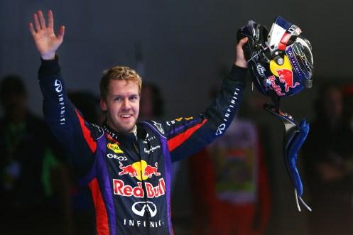 Sebastian Vettel FORMULA 1 - Indian GP