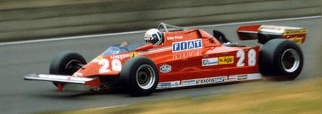 Didier Pironi Ferrari