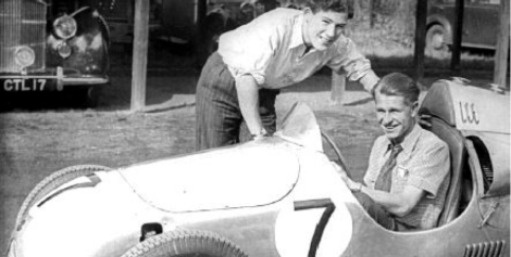 Stirling Moss & Peter Collins - Cooper Mk III - circa 1950