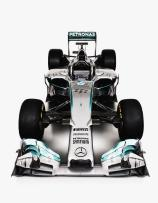 Mercedes W05 Front