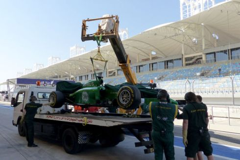 Bahrain - Day 4 - Caterham Fly