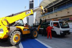 Bahrain - Day 4 - Caterham lift