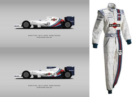 artist impression of a possible martini livery by Istvan Kalmar