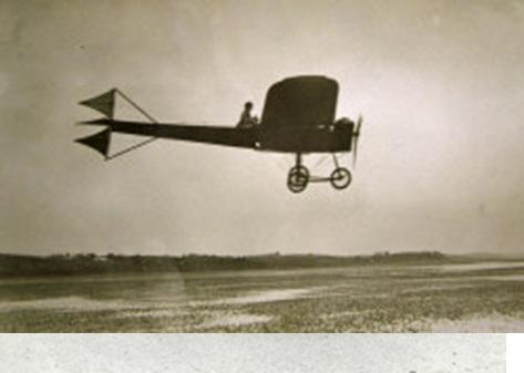 Ferguson Flying his Monoplane