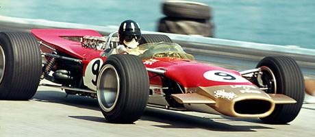 Lotus 49 front wing Monaco 1968