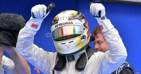 2014 Petronas Malaysian Grand Prix Pole - Lewis Hamilton