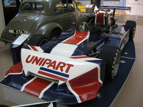 The 1978 Triumph Dolimite engined March F3 racing car driven by Nigel Mansell