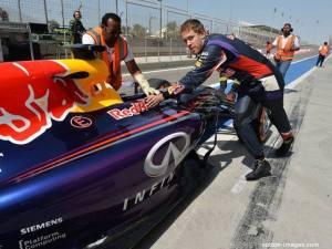 Bahrain 2nd Test - Day 3 - Vettel
