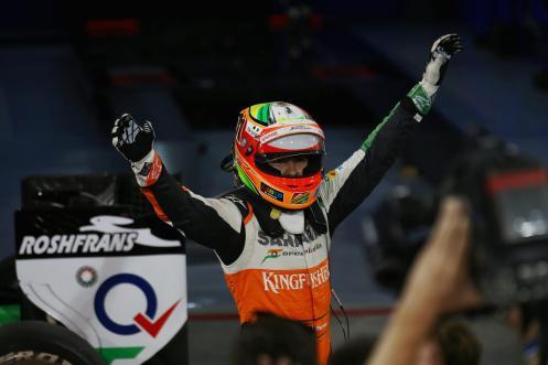 2014 Bahrain Grand Prix - Sergio Perez 2