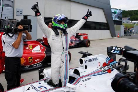 2014 AustrianGP - Felipe Massa Pole
