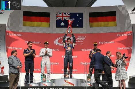 2014 Canadian Grand Prix Podium
