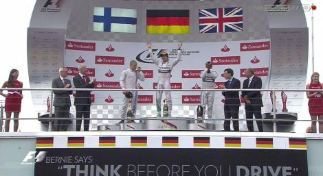 2014 German GP - Podium 2