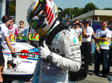Lewis Hamilton 2014 ItalianGP Winner
