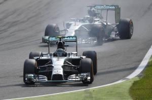 Nico Rosberg _ Lewis Hamilton 2014 ItalianGP