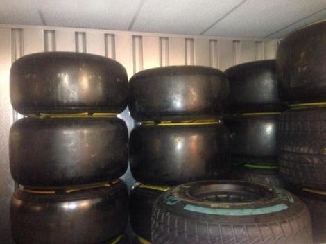 Caterham Pirelli Tyres