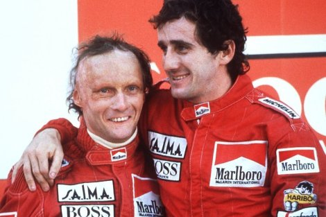 Formel 1: Niki Lauda und Alain Prost 1984