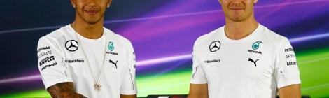 Lewis and Nico - Abu Dhabi 2014