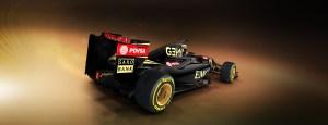 Lotus E23 Rear