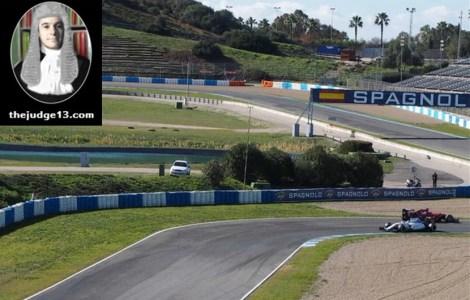 Oh dear... Kimi spins at the Ayrton Senna chicane
