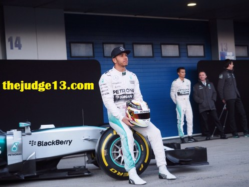 Lewis Merc launch