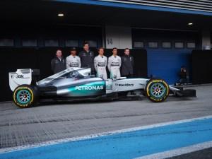 Mercedes 2015 Launch Jerez