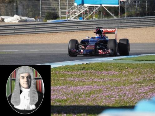 Toro Rosso Sainz Jr day 1, afternoon