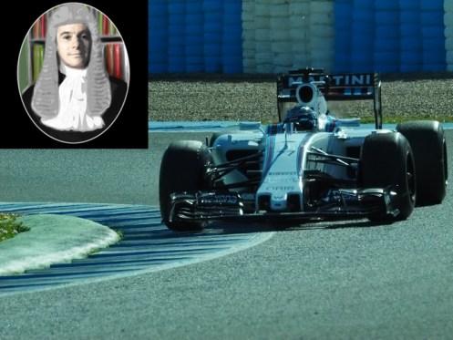 Williams Bottas day 1, afternoon