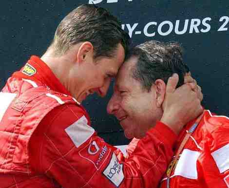 Michael Schumacher wins formula 1 world championship