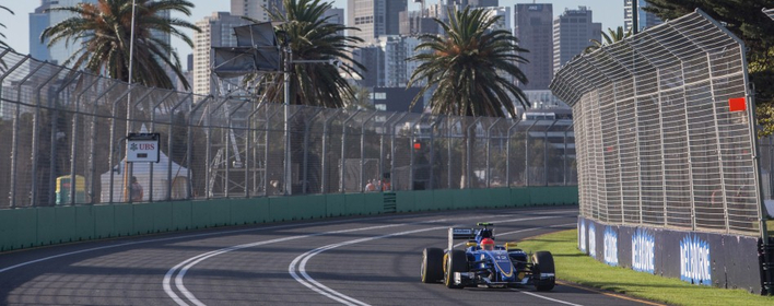Felipe Nasr (car number 12) - Australian GP